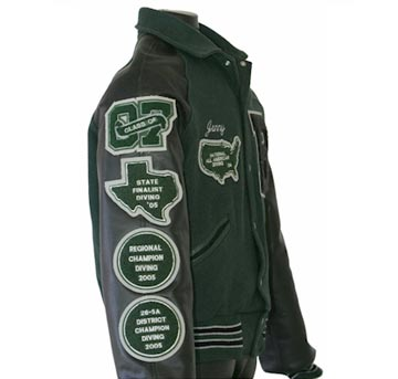 Custom Letter Jacket Balfour San Antonio